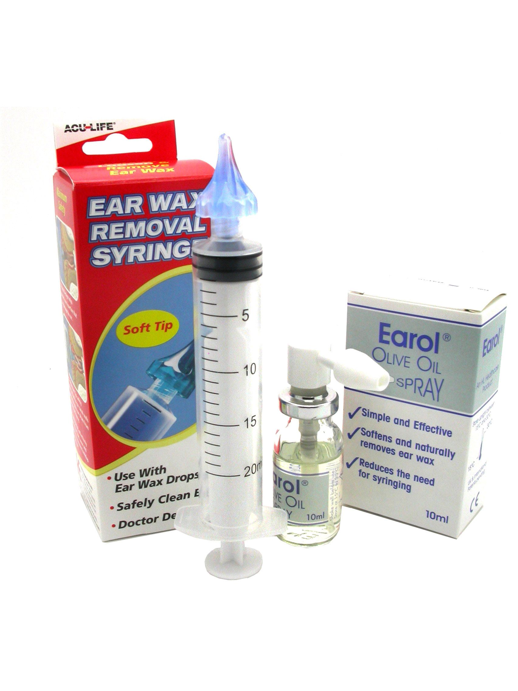 Ear wax build up olive oil ypf