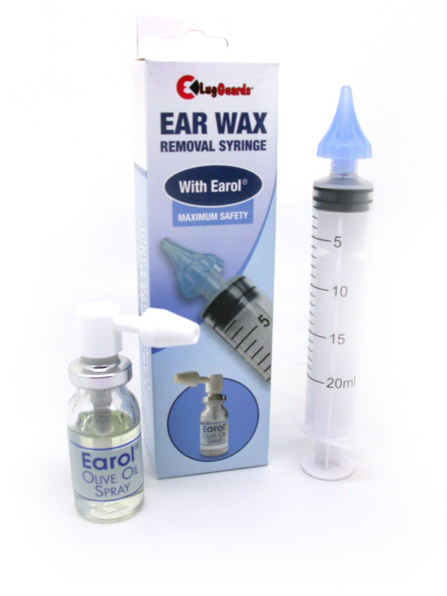 how to syringe an ear for wax